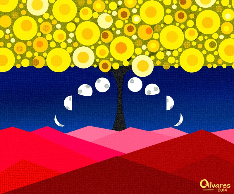 Olivares - Bandera Abstracta - 2014