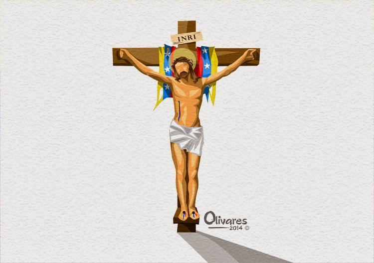 Olivares - Jesus crucificado - 2014