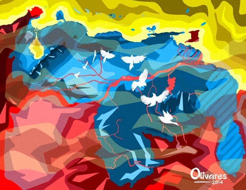 Olivares - Mapa - 2014