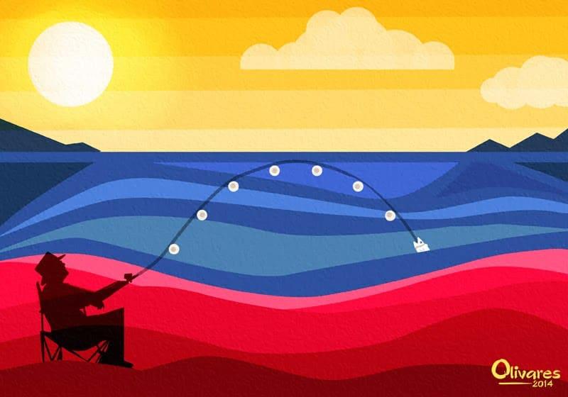 Olivares - Playas y pesca en Venezuela - 2014