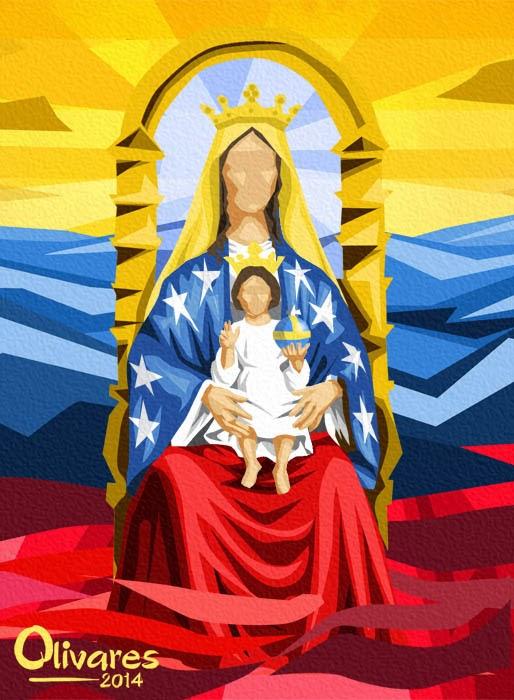 Olivares - Virgen de Coromoto - 2014