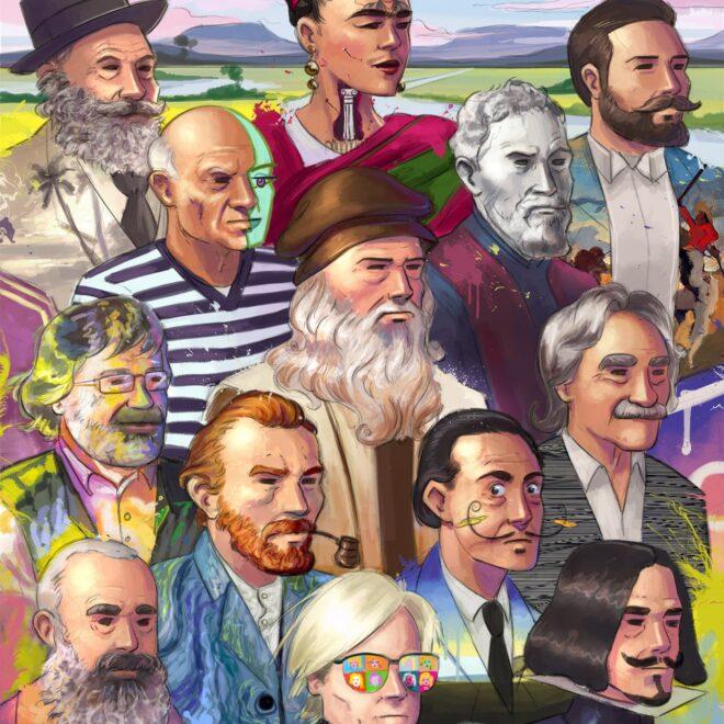 Grandes Artistas Olivares