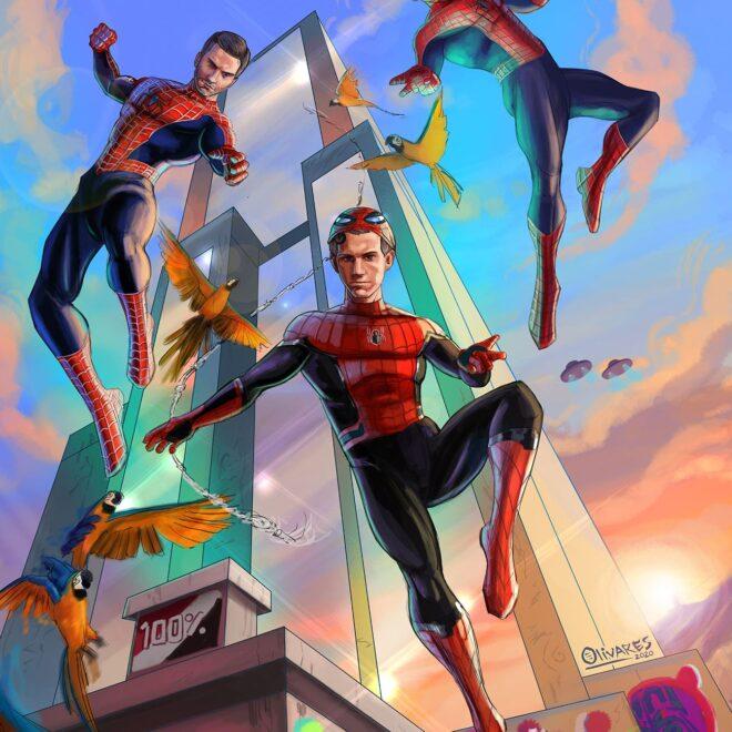 Spider men Olivares